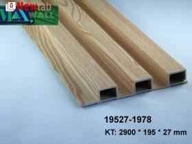 Lam gỗ nhựa ốp tường trần
