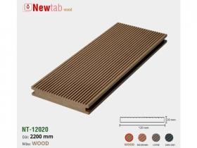 Sàn Gỗ Nhựa Ngoài Trời Màu Đặc - Màu Wood